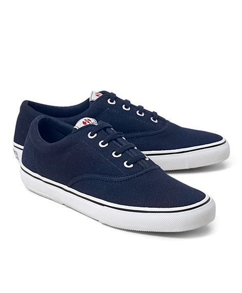 classic sneakers brothers superga 174 classic deck sneakers in blue for