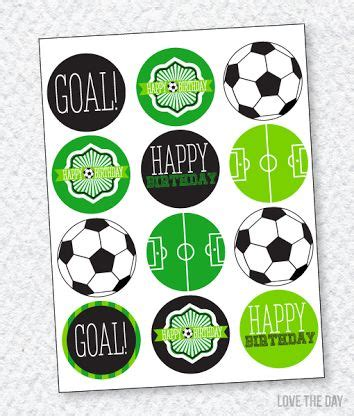 printable birthday cards soccer free printables soccer party pesquisa google festa