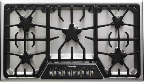 sgsxfs thermador masterpiece  gas cooktop  star