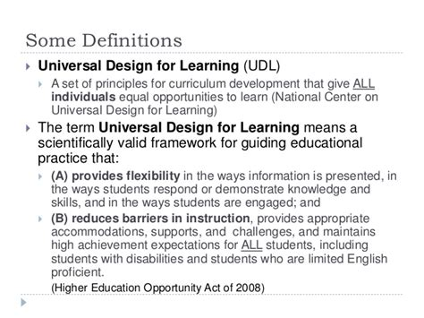 definition universal design for learning ignis 2017 udl module design in canvas 030917