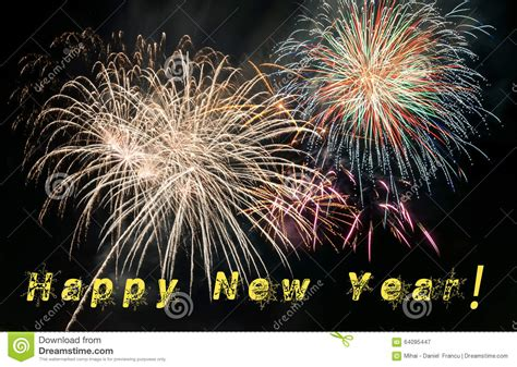 new year fireworks time happy new year stock image image of concept celebration