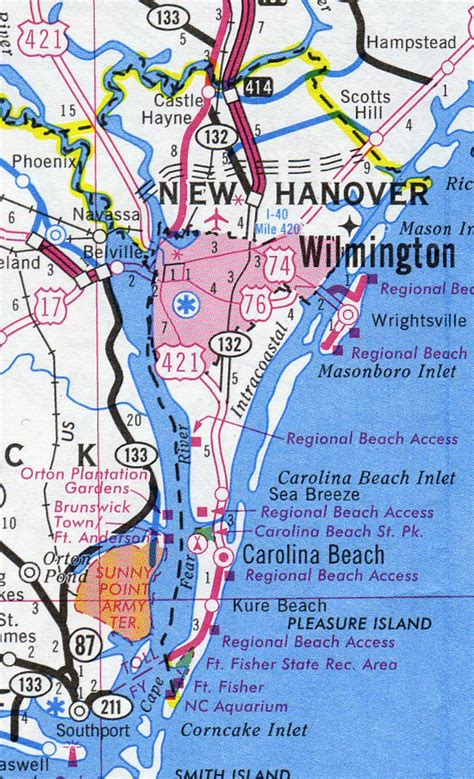 New Hanover County Property Records New Hanover County Map Carolina Carolina Hotels Motels Vacation
