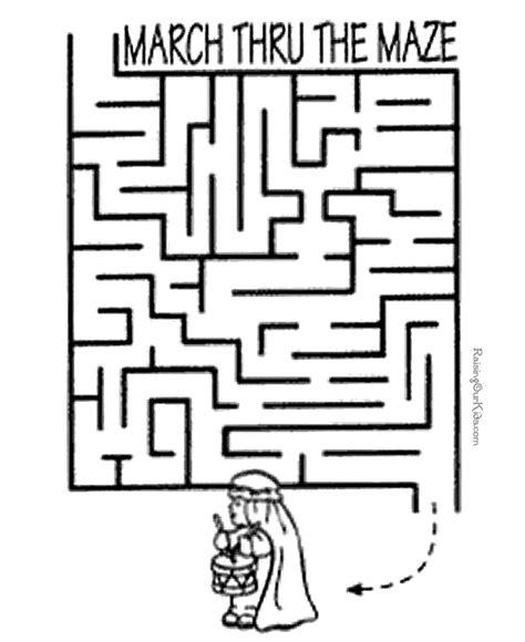 printable maze games easy maze game for kids new calendar template site