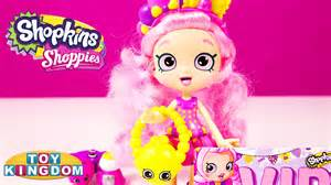 Shopkins shoppies bubbleisha doll review