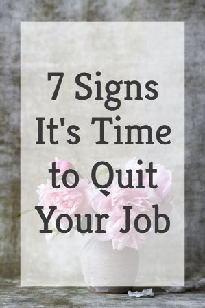 7 Signs That Its Time To Leave Your Boyfriend by 7 Signs It S Time To Quit Your Live Work