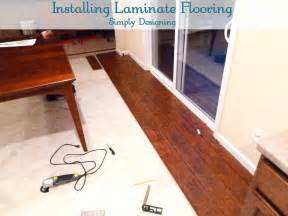 Laminate Wood Flooring Installation Laminate Flooring Install Row Laminate Flooring