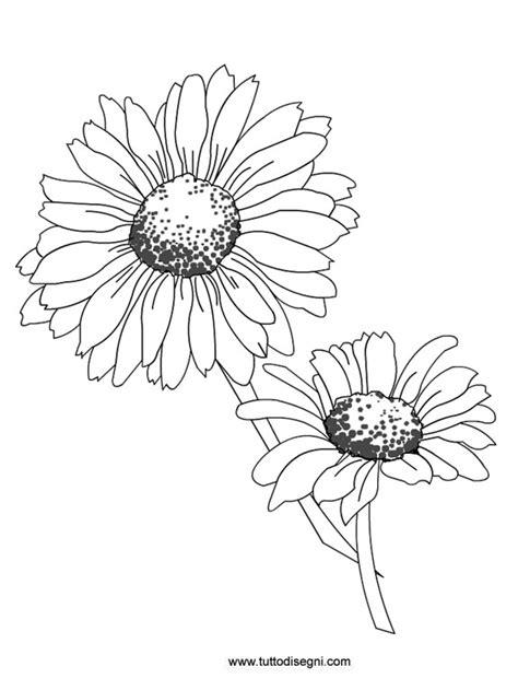 disegni di fiori da colorare e stare disegni di fiori da stare disegni da colorare tema fiori