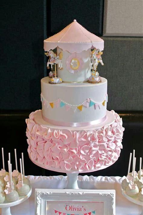 carousel cake cake girls pinterest cakes carousels  birthday cakes