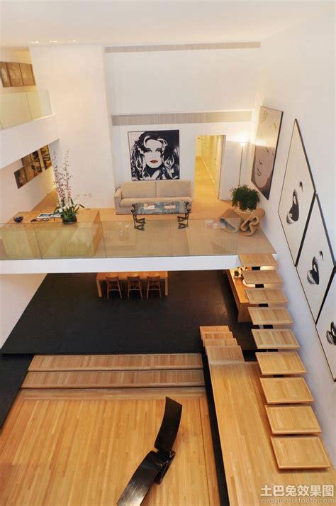 mezzanine floor plan design decoration loft户型原木色地板装修效果图 土巴兔装修效果图