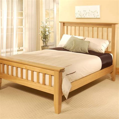 wooden bed frame plans full  plans