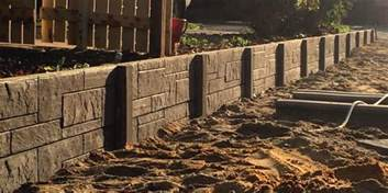 panel post retaining wall suppliers retaining perth