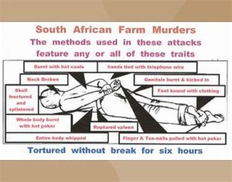 white genocide in south africa here are the names the boere volk white genocide
