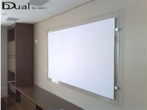 home theater tela de projecao  pol pelicula de projecao