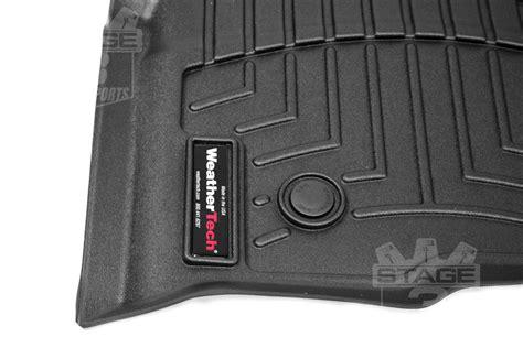 2009 2014 f150 supercrew weathertech front rear digital fit floor mats black