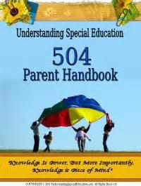 section 504 handbook understanding special education a parent guide