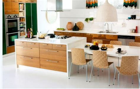Kitchen Island With Table Combination Kitchen Island With Table Combination Tjihome