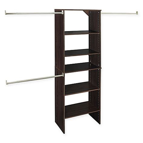 buy closetmaid 174 suitesymphony 25 inch tower starter kit