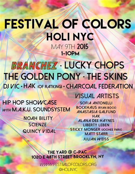 festival of colors nyc festival of colors holi nyc announces outstanding musical
