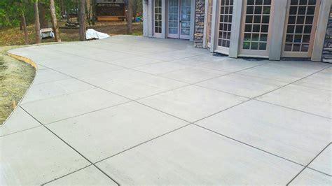 Smooth Concrete Patio by Concrete Gallery