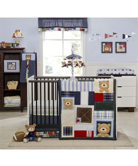 Kidsline Oxford Bear Baby Bedding And Accessories Baby Kidsline Crib Bedding