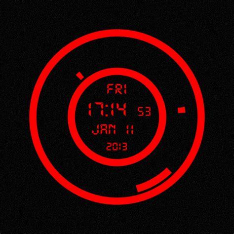 themes clock red red clock txx by medi dadu on deviantart