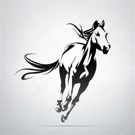imagenes vectores caballos silueta de correr caballo vector de stock 169 nutriaaa
