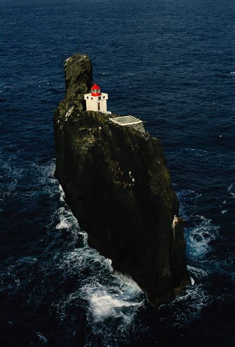 cat island not showing lighthouse that was built in 1831 thridrangar lighthouse southern iceland lighthouses