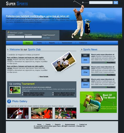 12 Golf Psd Templates Download Images Free Website Templates Golf Turf High Definition Golf Golf Website Template Free