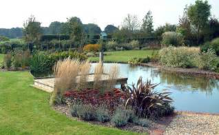 easy landscape for a large pond large pond and plantings my style pinterest planting