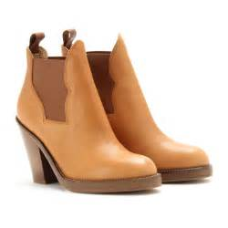 Light Tan Boots Objects Of Desire Acne Star Ankle Boots Tan Star Leather