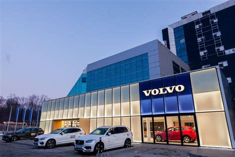 biggest volvo dealer  romania opens eur  mln showroom romania insider