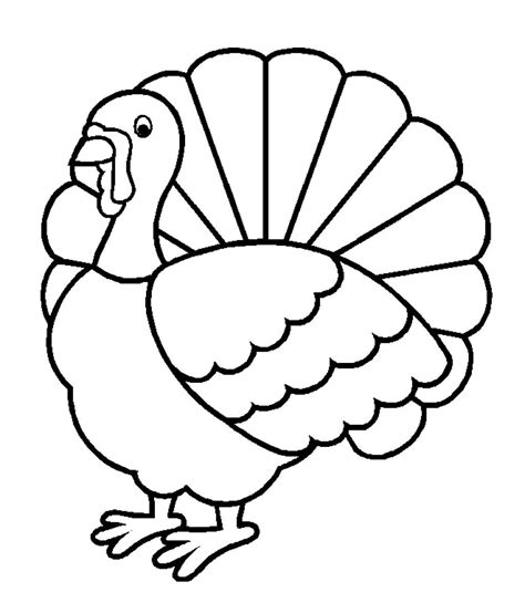 thanksgiving coloring pages easy easy turkey coloring page for thanksgiving easy coloring