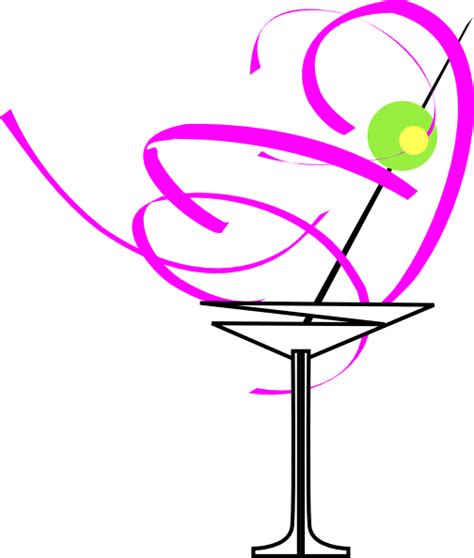 pink martini clip martini glass pink clip art at clker com vector clip art