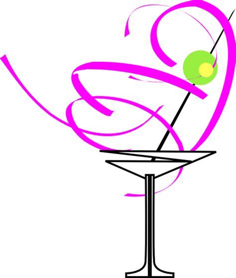 pink martini clip martini glass clipart clipart best