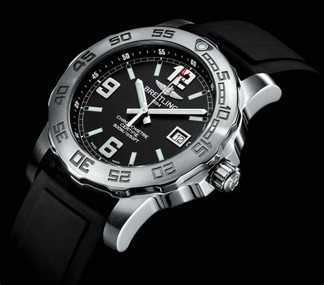 Breitling Bolt Diver Combi Black Rubber new breitling colt 44mm series stylish and extravaganzi