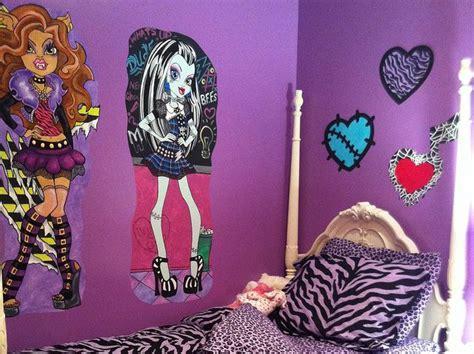 monster high bedroom decorating ideas monster high wall decorations monster high doll