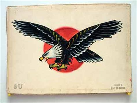 sailor jerry eagle tattoo 1974 cl125 going cafe now