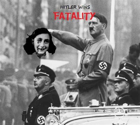 Hitler Anne Frank Meme - anne frank hitler memes