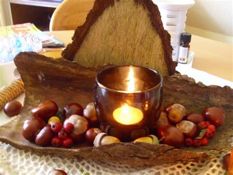 tischdeko herbst herbst tischdeko aus naturmaterialien selber machen bild 3