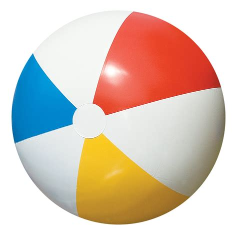 beach transparent beach ball png transparent image pngpix