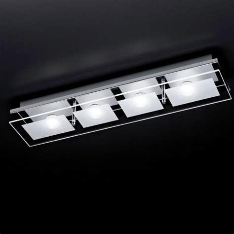 Chiron LED Chrome Ceiling Light 6055 17   The Lighting