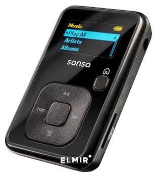 E57 Black mp3 8gb sandisk sansa clip microsd black sdmx18r