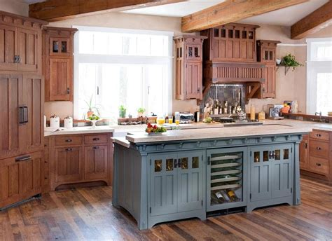 arts and crafts style kitchen cabinets arts crafts cabinets kitchen cabinetry finishes and