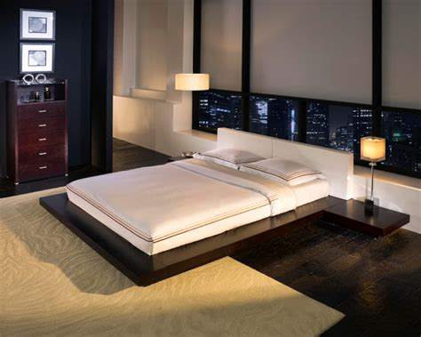 asian style platform bed object moved