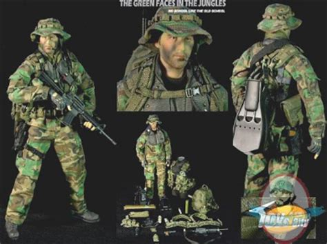 Tas Army Wordland Navy Seal the green faces in the jungles u s navy seal toys city of figures