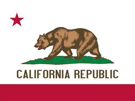california state colors state flag of california usa american images