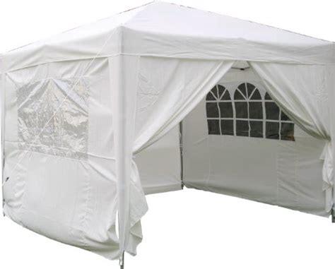 fester gartenpavillon airwave pop up pavillon 3 x 3 m wei wasserfester