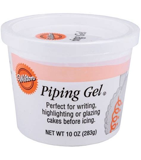 Decorating Gel by Wilton Piping Gel 10 Ounces At Joann