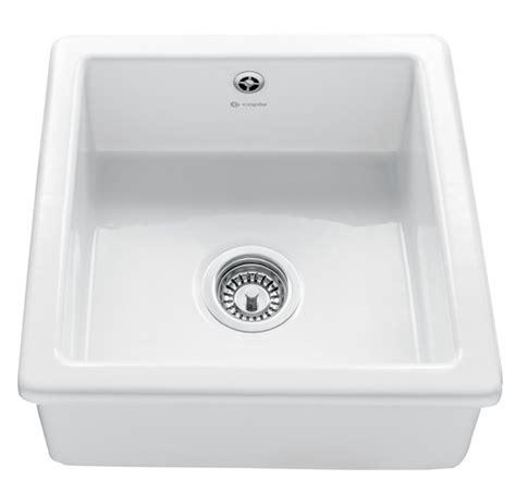 Square Ceramic Kitchen Sink Caple Csqb Square Bowl Ceramic Sink Appliance House