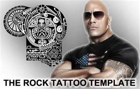 the rock s tattoo the rock template the rock the rock